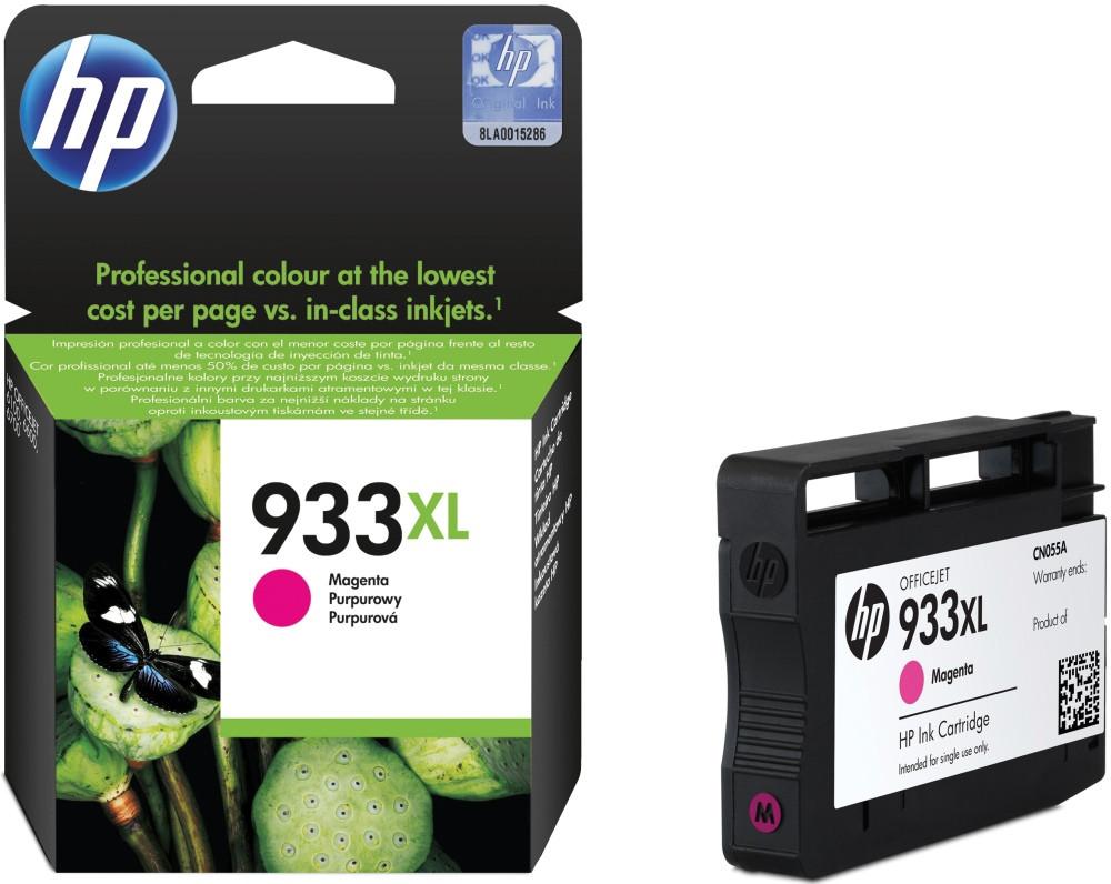 Струйный картридж HP 933XL (Оригинальный, Пурпурный - Magenta) CN055AE
