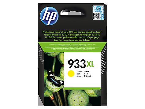 Струйный картридж HP 933XL (Оригинальный, Желтый - Yellow) CN056AE