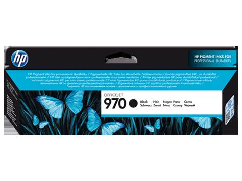 Струйный картридж HP 970 (Оригинальный, Черный - Black) CN621AE