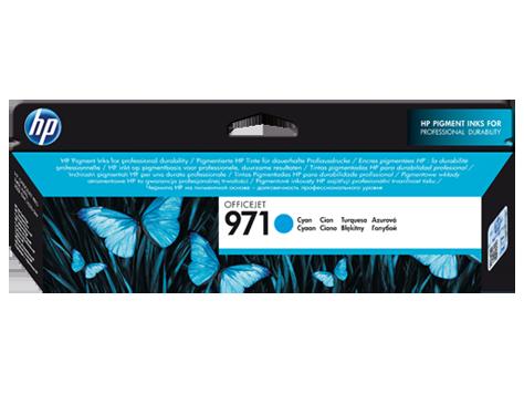 Струйный картридж HP 971 (Оригинальный, Голубой - Cyan) CN622AE
