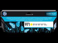 Струйный картридж HP 971 (Оригинальный, Желтый - Yellow) CN624AE