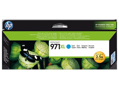 Струйный картридж HP 971XL (Оригинальный, Голубой - Cyan) CN626AE