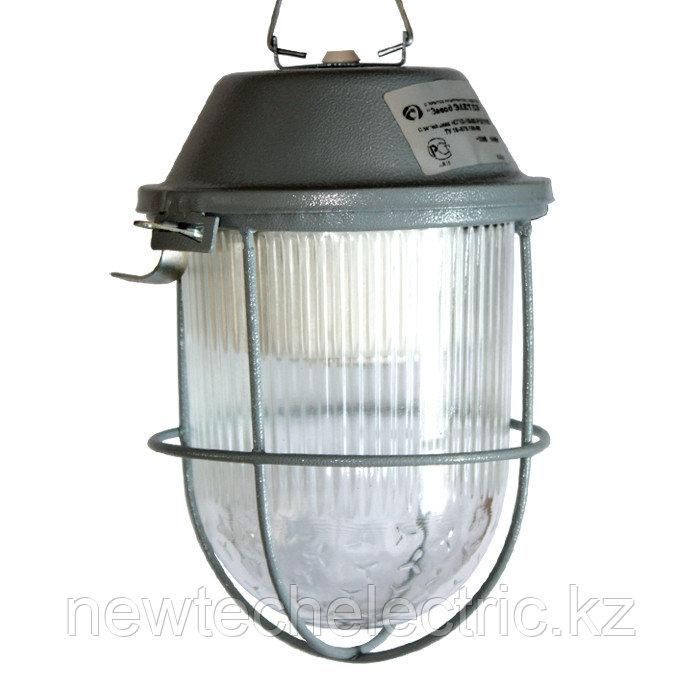 """Светильник """"Спецсвет"""" НСП 01-009-101 220В IP54  Желудь с решеткой стальной, серый 1030450140"""