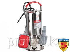 Насос погружной, ЗУБР, для грязной воды, корпус из нерж. стали, пропускн способность 230 л/мин