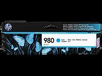 Струйный картридж HP 980 (Оригинальный, Голубой - Cyan) D8J07A