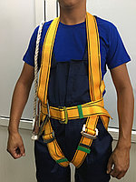 Предохранительный пояс парашютного типа