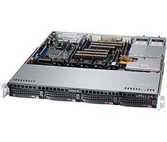 Сервер Supermicro CSE-813MFTQC-R407CB/X10DRL-i/2xXeon E5-2650v4/128GB/2x600GB SAS 15K/MR9341-8i/2x400W