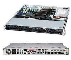 Сервер Supermicro CSE- 813MTQ-441CB /X10Sri-F