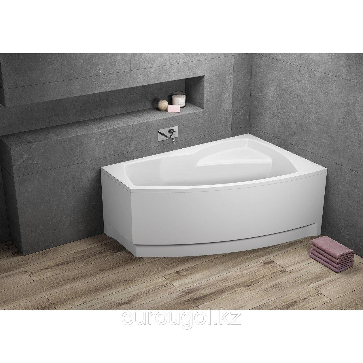 Акриловая ванна асимметричная FRIDA1 150х90 см