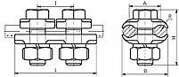 Зажим плашечный ПА-2-4, фото 2