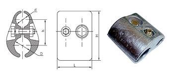 Зажим плашечный ПАБ-640-Б