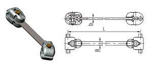 Распорка РГУ-2-400