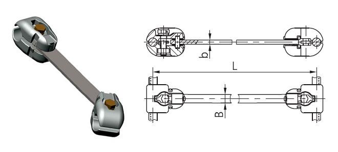Распорка РГУ-3-400