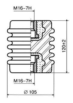Изолятор И8-80 II 02