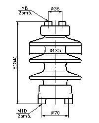 Изолятор С4-80-II УХЛ 1
