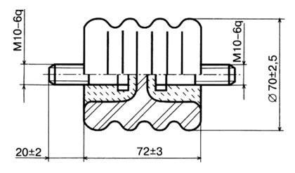 Изолятор 701.1 II