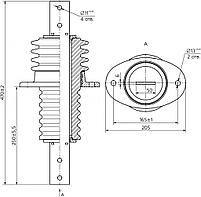 Изолятор ИПУ-10/1000-7,5УХЛ1, фото 2