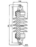 Изолятор НСФ 70-25/0,95 УХЛ1, фото 2