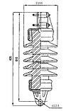 Изолятор ФСФ 100-3,0/0,6 УХЛ1, фото 2