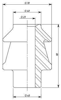Изолятор ИПТ-1/3150 01