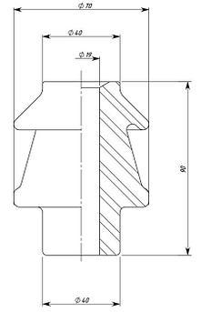 Изолятор ИПТ-1/400 01