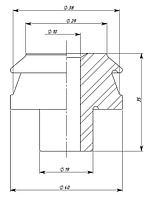 Изолятор ИПТ-0,5/100 01, фото 2
