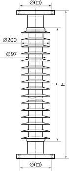 Изолятор CSP 150/16-850-01