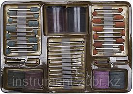 """Набор STAYER """"MASTER"""": Мини-насадки для гравировальных машин, 134 предмета"""