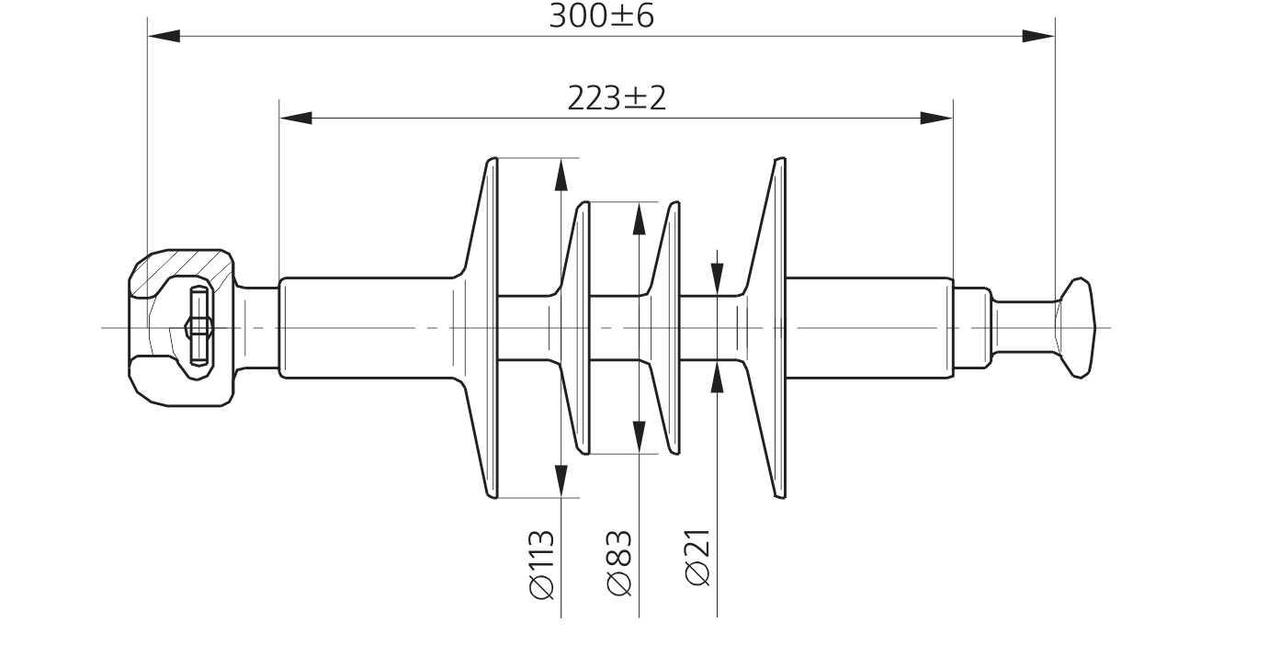Изолятор ЛК 70/10-4 СС
