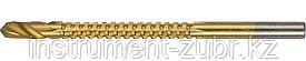 Сверло фрезеровальное по дереву, тонколистному металлу, ЗУБР Мастер 29965-04, d=4х75мм