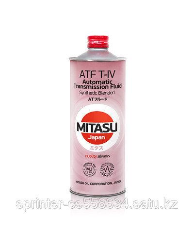 Трансмиссионное масло MITASU TOYOTA T-4  1 литр