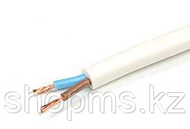 Провод гибкий ПВС 2х0,75 белый