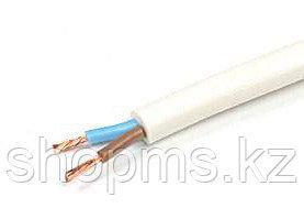 Провод гибкий ПВС 2х0,75 белый, фото 2