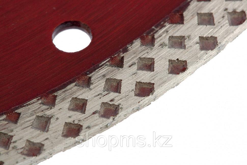 Диск алмазный отрезной сплошной, 115 х 22,2 мм, сухая резка// MATRIX Professional