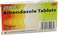 """Таблетки от паразитов """"Albendazole tablets"""""""