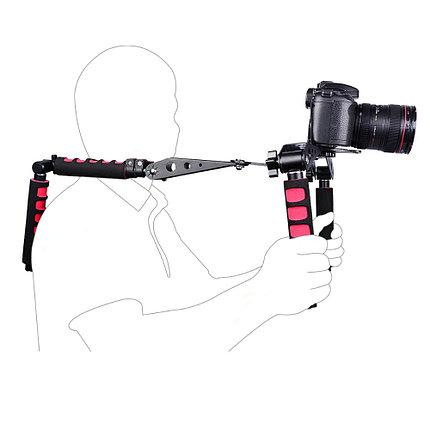 Риг Плечевой упор складной для DSLR и видеокамер до 3-х кг, фото 2