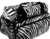 Сумка для мастера TONI&GUY - черный с белым зебра, фото 1