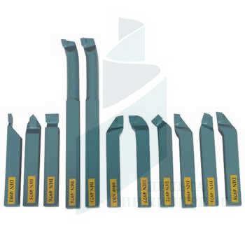Набор токарных резцов с напайными пластинами 11 шт. 16 мм