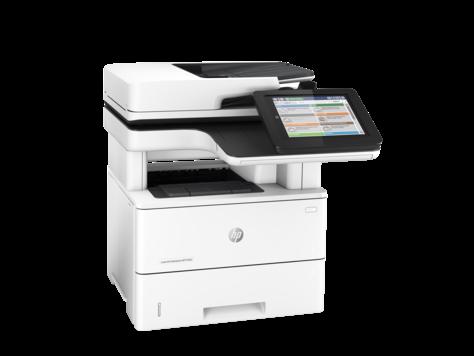 МФУ HP LaserJet Enterprise M527dn B (Лазерный A4 Монохромный (черно - белый) USB Ethernet Планшетный) F2A76A
