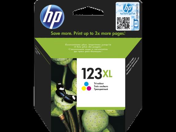 Струйный картридж HP 123XL (Оригинальный, Цветной) F6V18AE