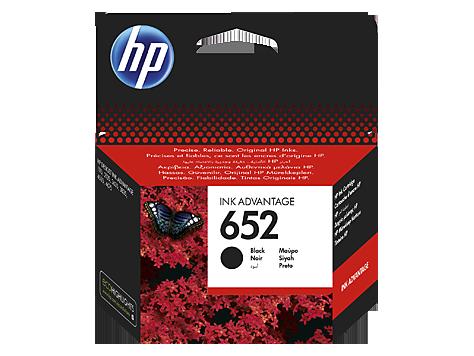 Струйный картридж HP 652 (Оригинальный, Черный - Black) F6V25AE
