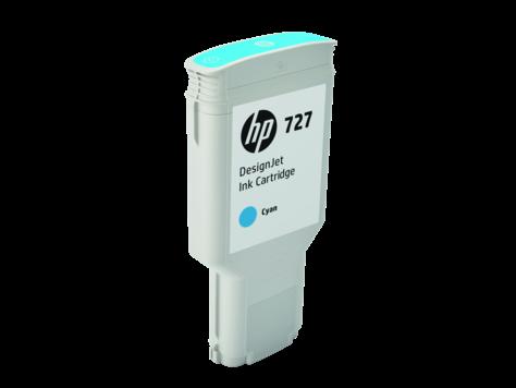 Струйный картридж HP 727 C (Оригинальный, Голубой - Cyan) F9J76A