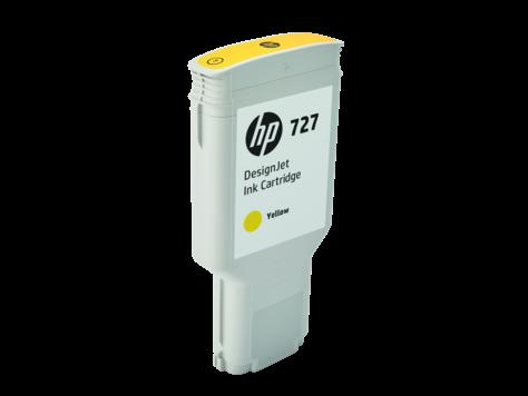 Струйный картридж HP 727 (Оригинальный, Желтый - Yellow) F9J78A