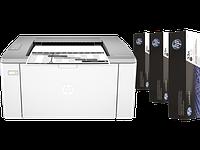 Принтер HP HP LaserJet Ultra M106w B (А4, Лазерный, Монохромный (черно - белый), USB, Wi-fi) G3Q39A