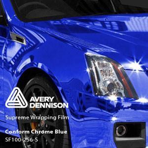 Автовинил Avery   Blue Chrome (Синий Хром)