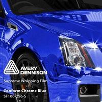 Автовинил Avery | Blue Chrome (Синий Хром)