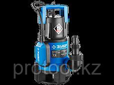 Насос Т3 погружной, ЗУБР Профессионал, дренаж. для грязной воды (d частиц до 35мм), 750Вт, фото 2