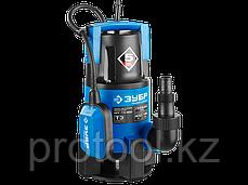 Насос Т3 погружной, ЗУБР Профессионал, дренаж. для грязной воды (d частиц до 35мм), 750Вт, фото 3