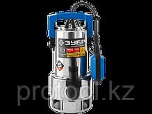 Насос Т3 погружной, ЗУБР Профессионал, дренажный для грязной воды (d частиц до 35мм), 750Вт, 220л, фото 2