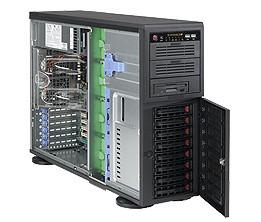 Сервер Supermicro CSE-743AC-668/X10DRL-i/ 1xE5-2650v4/32GB/2x250GB SSD/ 2x2TB EXOS/RTX2070/1x668W